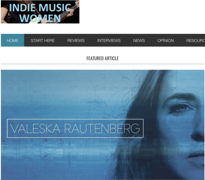 Valeska Rautenberg Indie Music Women